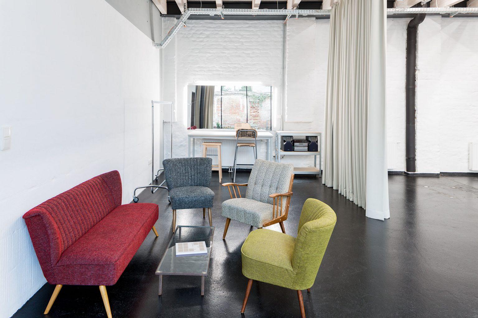 Studio Totale_ Aufenthaltsbereich