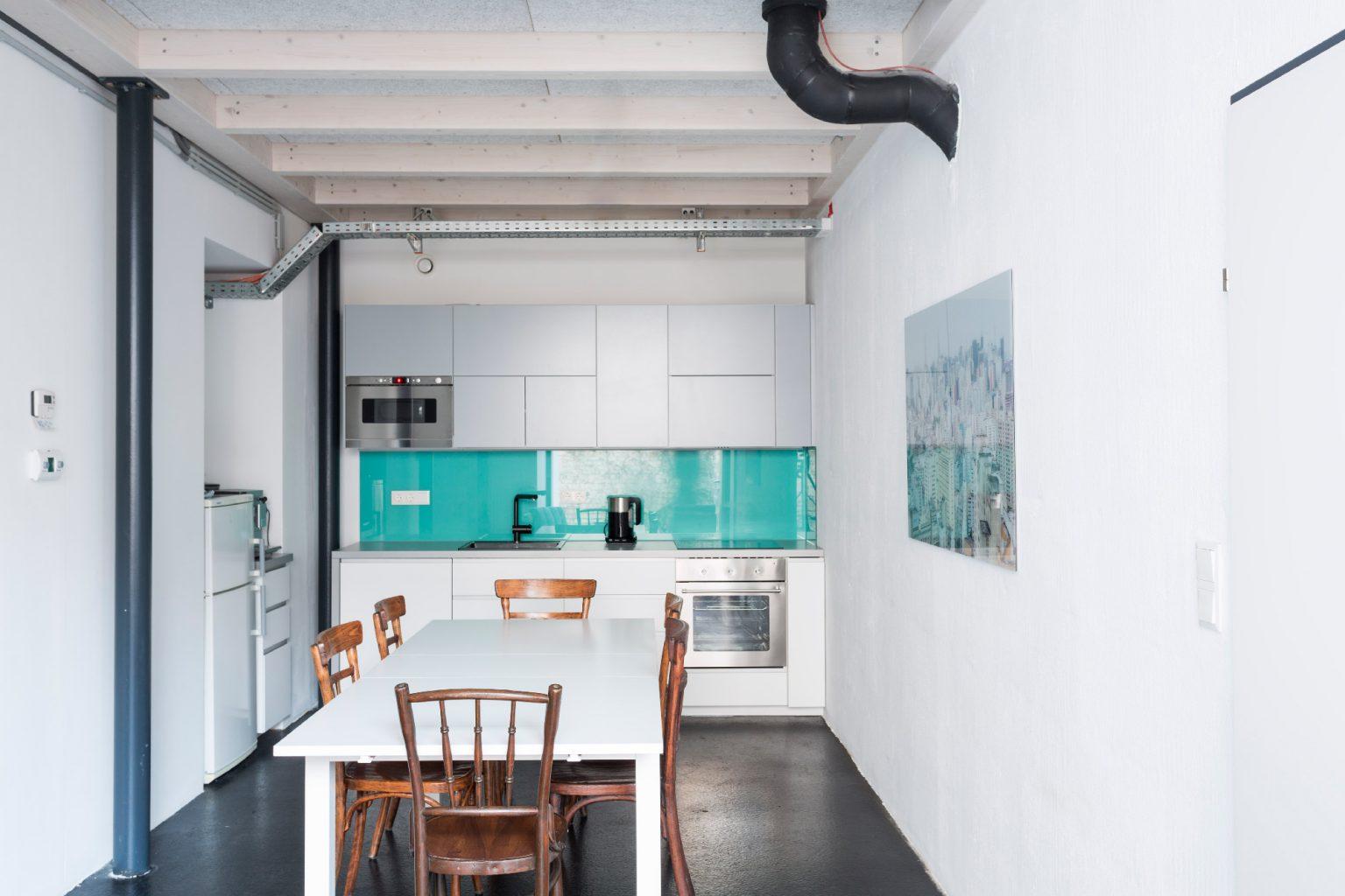 Coworking Space Studio Totale in Wien mit Küche