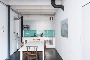 Das Gemeinschaftsbüro Studio Totale in Wien mit Küche