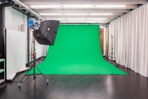 Das Studio Totale in Wien bietet Greenbox, Greenscreen und Bluescreen für deinen Filmdreh.