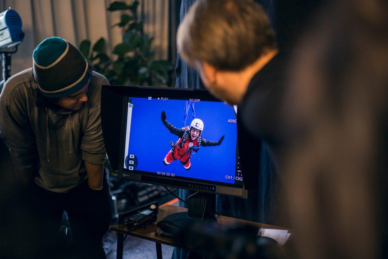 Das Studio Totale in Wien bietet Greenscreen und Bluescreen für deinen Filmdreh.