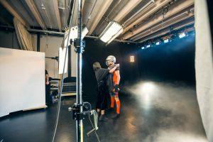 ACP Fotoshooting und Filmdreh im Studio Totale in Wien