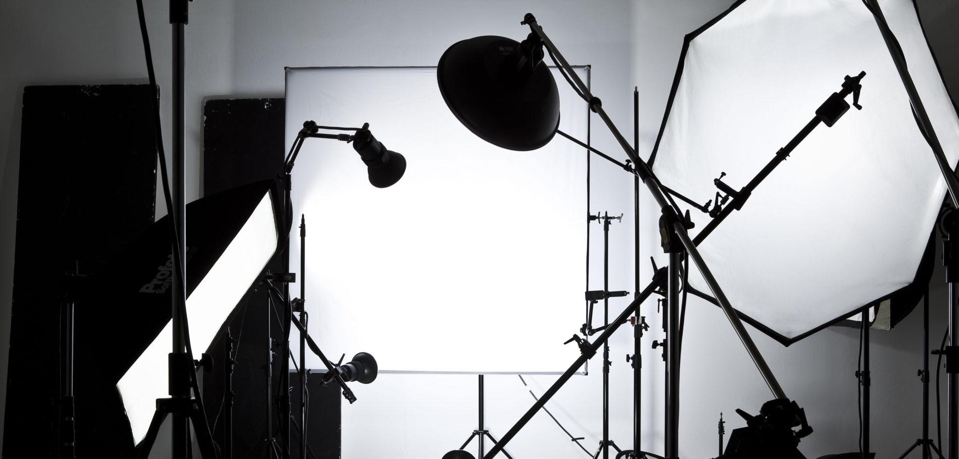 Licht und Equipment zur Miete im Studio Totale in Wien