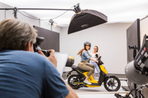 ÖAMTC Fotoshooting und Filmdreh im Studio Totale in Wien