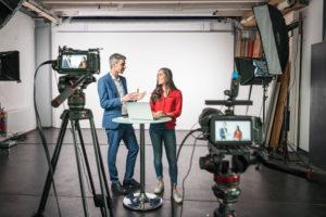 Das Studio Totale bietet eine individuell zugeschnittene Umsetzung deines Livestreaming Projekts.