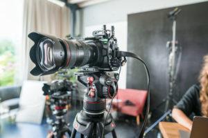 Im Studio Totale arbeiten wir stets mit modernster Kameratechnik.