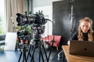 Wir verwenden odernes Kameraequipment für hochwertige Ergebnisse.